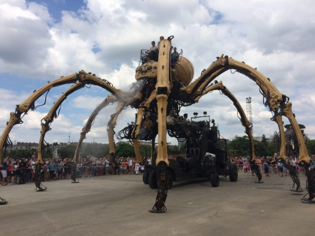 L'araignée mécanique