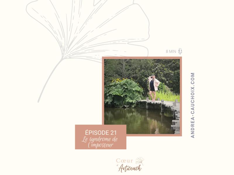 Podcast #21 : Le syndrome de l'imposteur
